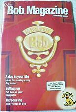 Microsoft Bob™ Software & The Bob Magazine Premiere Issue Factory Sealed 1995