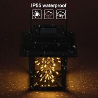 Waterproof Outdoor Hanging Solar Lanterns Lights 41 LED Yard Garden Lamp Decor