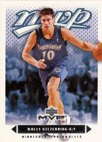 2003-04 UPPER DECK MVP NBA BASKETBALL CARD PICK SINGLE CARD YOUR CHOICE