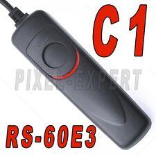 RS-60E3 PER CANON REMOTO SCATTO TELECOMANDO EOS 60D 1100D 1000D 500D 450D 400D
