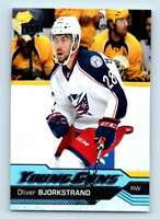 2016-17 Upper Deck Young Guns Oliver Bjorkstrand RC #243