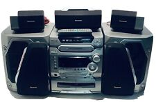 Panasonic SA-AK57 CD 5-Disc Stereo Home Theater System Cassette  Super Woofer