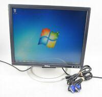 """Dell 1905FP 19""""  LCD Flat Panel Monitor Display VGA w/ Cords Grade A"""