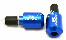 Blue barends bar ends Suzuki GSXR600 GSXR750 GSXR1000 #BE105BL#