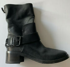 marsell BLACK COMBAT BOOTS it36.5 usa 6.5 NEW