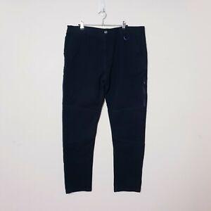 Hawke Mens W36 L30 Black Straight Leg Slim Fit Denim Jeans