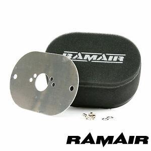 RAMAIR Carb Luftfilter mit Grundplatte Su HS4, HIF4, HIF3B 1.5in 40mm Bolzen Auf