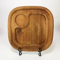 Vintage Thai Teak Wood Serving Tray