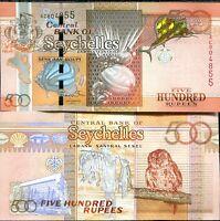 SEYCHELLES 500 RUPEES 2011 P 44 UNC