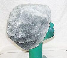 Billy bag london tissu fourrure chapeau gris amazing doublure l 23 pouces élégant confortable chic