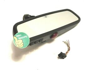 ✅ 2006-2009 BMW 328i 335i AUTO DIM REAR VIEW MIRROR HOMELINK Buttons Rearview