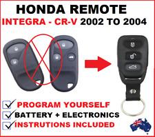 HONDA INTEGRA CRV CR-V REMOTE CONTROL FOB KEY LESS ENTRY 2002 2003 2004