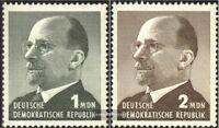 DDR 1087-1088 (kompl.Ausgabe) postfrisch 1965 Walter Ulbricht
