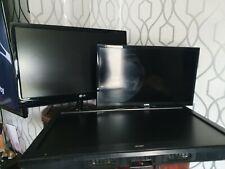 3x Portable Flat Screen Tvs