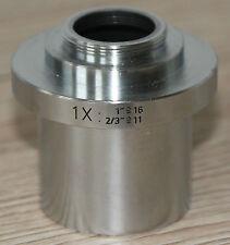 Leica MICROSCOPIO Microscope C-Mount Adattatore 1x (numero: 541006)