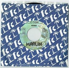 "VOYAGE - 7"" - Let's Fly Away USA Single.  Marlin Records.  USA"