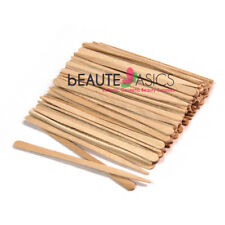 100 Extra Small Wooden Waxing Sticks Eyebrow Sticks Applicators - #PW5011x1