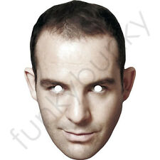 Martin Lewis Celebrity Card Mask. All Our Masks Are Pre-Cut!
