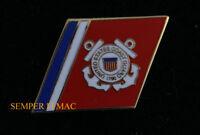 US COAST GUARD LOGO SEAL STRIPES HAT PIN UP USCG ANCHOR USCG SAILOR OFFICER GIFT