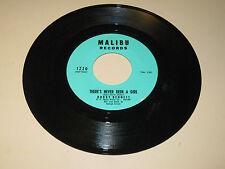 ROCK & ROLL 45RPM RECORD - BOBBY BENNETT - MALIBU 1220