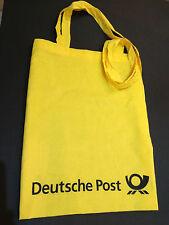 Tragetasche Einkaufstasche Tasche Deutsche Post DHL DPAG, Baumwolle ! gelb