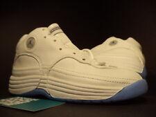 Kids 1998 Nike Air Jordan JUMPMAN TEAM 1 PS WHITE CAROLINA NAVY BLUE 13.5C 13.5