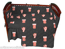 NC State Wolfpack NCAA Crib 5 Piece Bed in a Bag