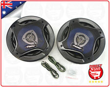 "6.5"" 3-way Car Audio Speakers 100 Watts 1.5"" Midrange Piezo Tweeter PL-1648"