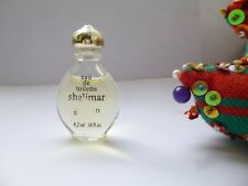 ANCIENNE & JOLIE miniature SHALIMÄR de GRELAIN  PLEINE SANS boite  EDT. BOUCH.OR