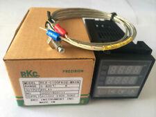 PID REX-C100 Temperature Controller & K Thermocouple Probe Sensor NEW