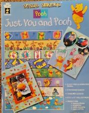 Paper Pizazz Disney Just You & Pooh Scrapbooking Paper Craft Book HOTP 12 sheets