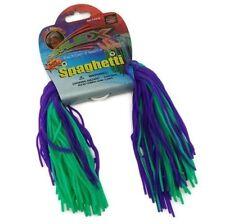 Stretchy spaghetti ball sensory hand fidget toy autism stress tool purple green