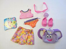 Dora Dress Up Doll Outfit Clothes Surfing Adventure Sunglasses Swimsuit s
