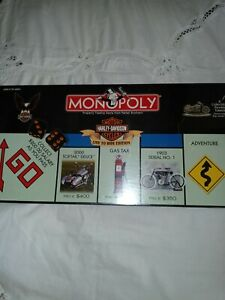 Harley Davidson Monopoly Live To Ride Edition. New Sealed. 2000