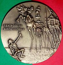 PAINTER / SALVADOR DALI / SURREALIST PAINTER / BRONZE MEDAL BY ARMINDO VISEU