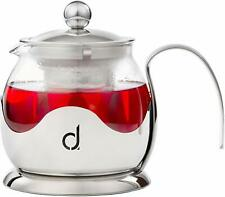 Andrew James Teapot Infuser Core Glass & Stainless Steel | 600ml