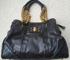 Authentic Marc Jacobs Alyona leather bag purse shopper rare, black coveted!!