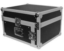 Seismic Audio SAMRC4U Slant Mixer Top Rack Case