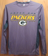 Nfl Team Apparel Green Bay Packers Tx3 Cool Athletic Shirt Long Sleeve Nwt Small