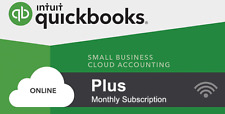 Quickbooks Online Plus - Monthly Subscription + 13 Months Pre-Paid