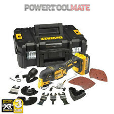 Dewalt DCS355M1 18v XR brushless multi tool 1x4ah batts + 35pc accs
