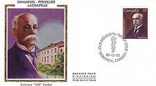 Canada FDC Sc # 877 Emmanuel Persillier Lachapelle with Colorano cachet- WW 7320