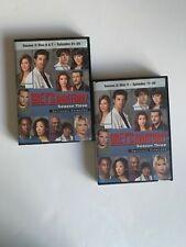 GREY'S ANATOMY DVDs SERIOUSLY EXTENDED  Season3:Disc 5 E:17-20 /Disc 6&7 E:21-25