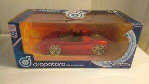 Hot Wheels Dropstars 1/24 Ferrari 360 Spider Red G7136 - Phat lip tech.  Custom