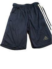Adidas Men's Navy Blue ClimaLite Soccer Training Shorts - Size M