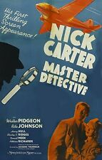Nick Carter Master Detective 3 movie collection Phantom Raiders Sky Murder