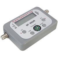Digital Satellite Dish Network Directv Signal Meter Finder FTA w/ Buzzer Compass