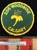 PATCH WOODBINE CALGARY ALBERTA CANADA 205 SOUVENIR TRAVEL 59VV ex