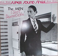 "12"" MAXI The Men I Don`t Depend on You ,VG++,cleaned, Virgin ‎– 600 094  Germany"