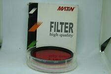 MATIN FILTER high quality  77mm  red  R2